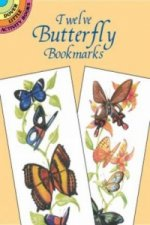 Twelve Butterfly Bookmarks