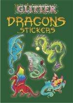 Glitter Dragons Stickers