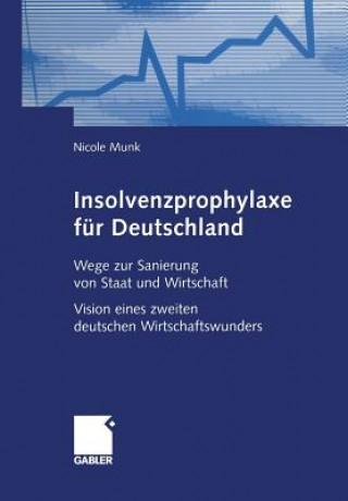 Insolvenzprophylaxe Fur Deutschland