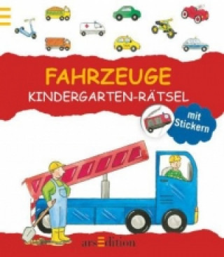 Fahrzeuge Kindergarten-Rätsel