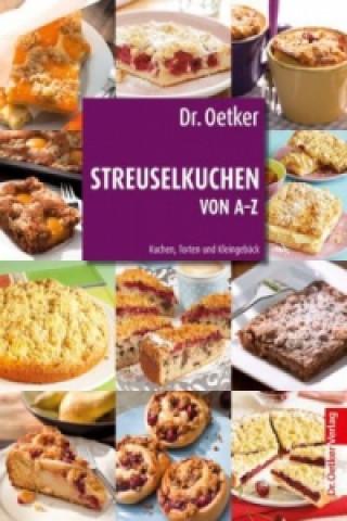 Dr. Oetker Streuselkuchen von A-Z