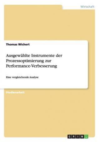 Ausgew hlte Instrumente Der Prozessoptimierung Zur Performance-Verbesserung