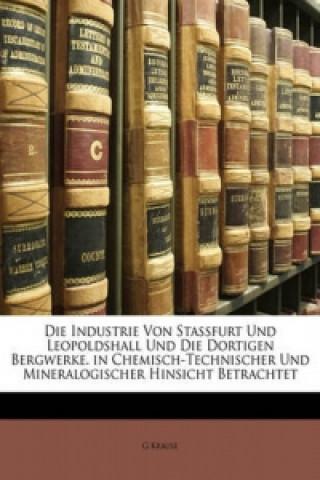 Die Industrie Von Stassfurt Und Leopoldshall Und Die Dortigen Bergwerke. in Chemisch-Technischer Und Mineralogischer Hinsicht Betrachtet