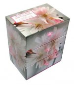 Three-drawer Card Box 60 Gift Cards and Envelopes: Fabulous