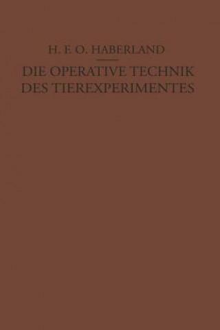 Die Operative Technik Des Tierexperimentes