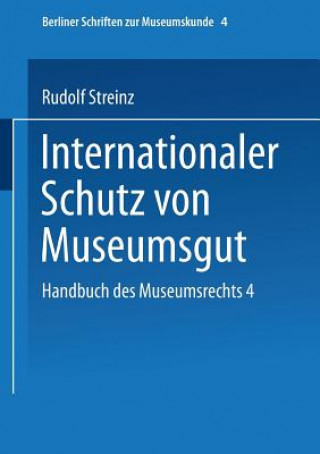 Handbuch Des Museumsrechts 4