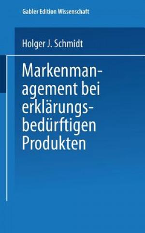 Markenmanagement Bei Erkl rungsbed rftigen Produkten