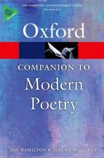 Oxford Companion to Modern Poetry in English