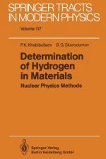 Determination of Hydrogen in Materials