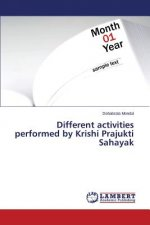 Different activities performed by Krishi Prajukti Sahayak