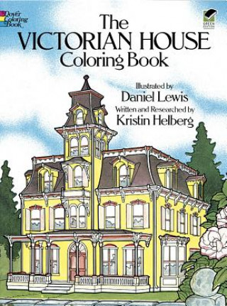 Victorian House Colouring Book