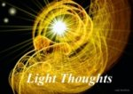 Light Thoughts (Stand-Up Mini Poster DIN A5 Landscape)