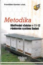 Metodika ošetřováni včelstev v 11-12 rámkovém systému Dadant