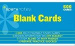 Blank study cards