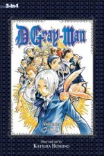 D.Gray-man (3-in-1 Edition), Vol. 3
