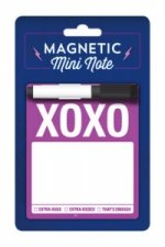 Knock Knock XOXO Magnetic Mini Note