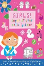 Super Sticker Activity Book - Girls