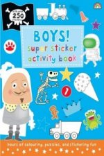 Super Sticker Activity Book - Boys