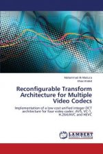 Reconfigurable Transform Architecture for Multiple Video Codecs