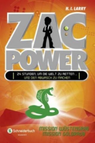 Zac Power, Mission Wüstengrab. Zac Power, Mission Goldraub