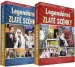 Legendární zlaté scénky (Menšík, Holzmann, Sovák, Cízler, Nekuda a další) - 14 DVD