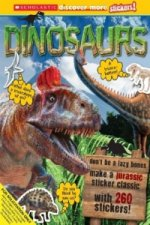Scholastic Discover More Stickers: Dinosaurs