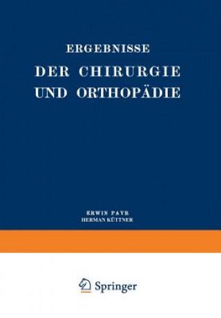 Ergebnisse Der Chirurgie Und Orthopadie