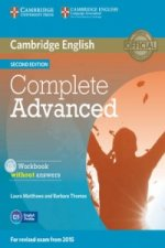 Cambridge English Complete Advanced Workbook without answers Second edition