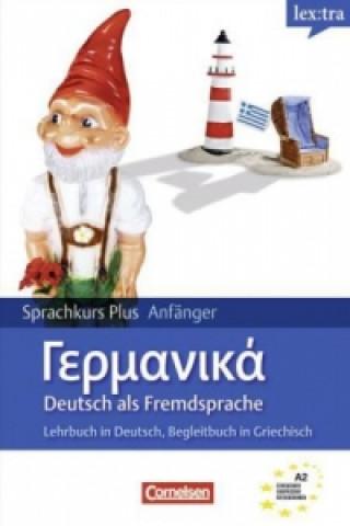 lex:tra Sprachkurs Plus Anfänger Deutsch als Fremdsprache, Lehrbuch in Deutsch, Begleitbuch in Griechischs und kostenloser MP3-Download