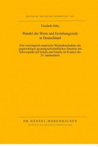 Wandel der Werte und Erziehungsziele in Deutschland