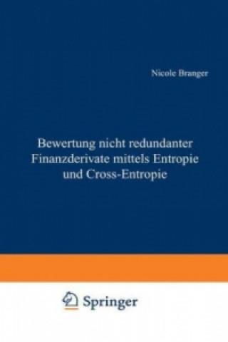 Bewertung nicht redundanter Finanzderivate mittels Entropie und Cross-Entropie