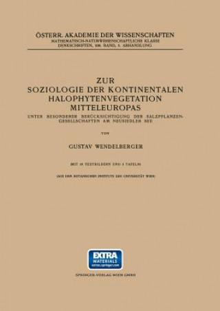 Zur Soziologie Der Kontinentalen Halophytenvegetation Mitteleuropas