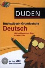 Duden Basiswissen Grundschule Deutsch, m. CD-ROM