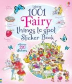 Usborne 1001 Fairy Things to Spot Sticker Book