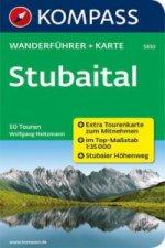 KOMPASS Wanderführer Stubaital, m. 1 Karte