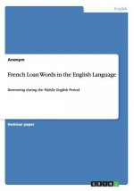 French Loan Words in the English Language