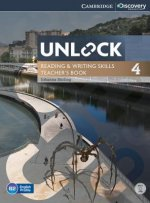 Unlock Level 4 Reading and Writing Skills Teacher's Book with DVD