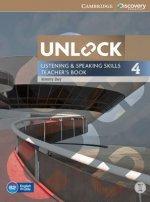 Unlock Level 4 Listening and Speaking Skills Teacher's Book with DVD