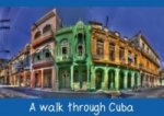 A walk through Cuba (Stand-Up Mini Poster DIN A5 Landscape)