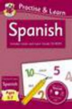 Practise & Learn: Spanish (Ages 5-7) - with Vocab CD-ROM
