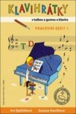 Klavihrátky - s tužkou a gumou u klavíru - pracovní sešit 1