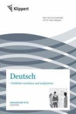 Deutsch, Gedichte verstehen und analysieren, Lehrerheft