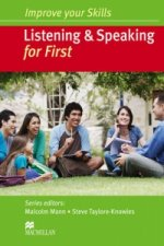 Improve your Skills: Listening & Speaking for First Student's Book without key Pack