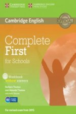 Complete First for Schools Workbook without Answers with Aud