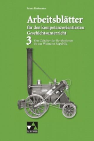 Vom Zeitalter der Revolutionen bis zur Weimarer Republik