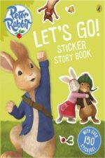 Peter Rabbit Animation: Let's Go! Sticker Story Book