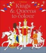 Kings & Queens Colouring Book