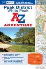 Peak District (White) Adventure Atlas
