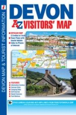 Devon Visitors' Map