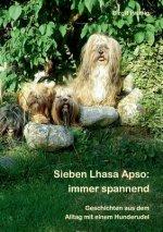 Sieben Lhasa Apso